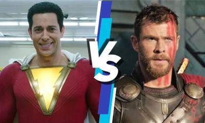 Shazam es más fuerte que Thor
