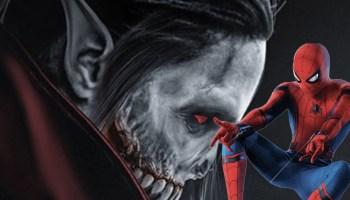 Spider-Man en 'Morbius'