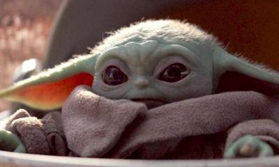 así se vería baby yoda en star wars battlefront
