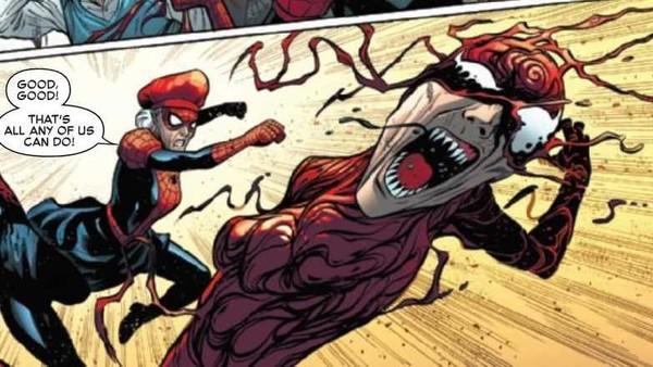 'Spider-Verse' convierte a la tía May en el nuevo Carnage e2ac6ecf3f045696-600x338