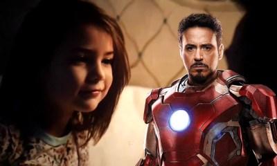 Morgan Stark es un robot