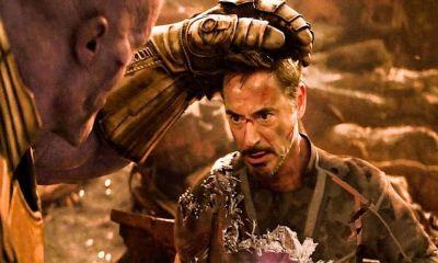 imagen de iron man para nominarse a los Oscar