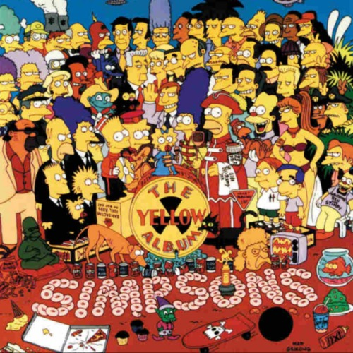 14 MDD vale esta obra de 'The Simpsons', pero el artista no recibió un centavo obra-de-arte-de-%E2%80%98The-Simpsons%E2%80%99-de-KAWS-2-500x500