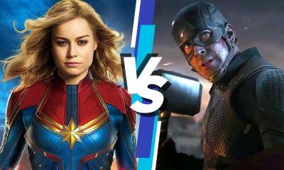 Captain Marvel desafió a Captain America