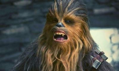 Chewbacca obtiene su medalla en The Rise of Skywalker