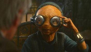 Maz Kanata de Lupita Nyong'o en 'The Rise of Skywalker'