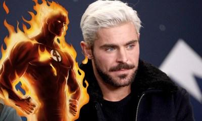 Zac Efron como Human Torch
