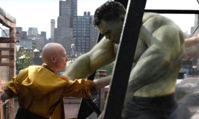 encuentro entre Hulk y Ancient One en 'Endgame'