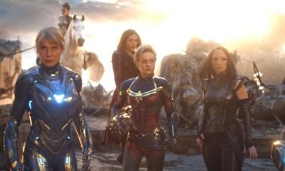 escena original de las superheroínas en 'Endgame'