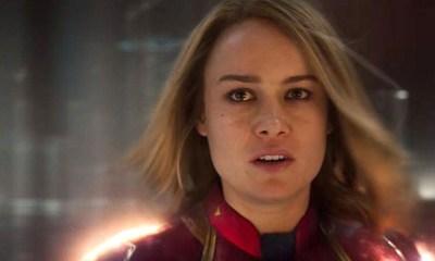 Brie Larson emocionada porque Captain Marvel tiene UNO