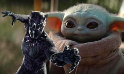 baby Yoda se unió a Avengers