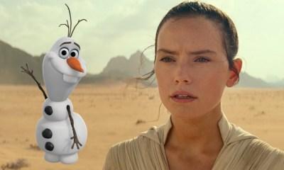 Olaf cuestiona a Rey sobre The Rise of Skywalker