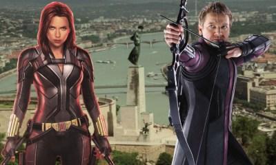 Black Widow y Hawkeye en la misión de Budapest