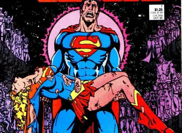 Supergirl podría sacrificarse en 'Crisis on Infinite Earths' Crisis-portada-600x437