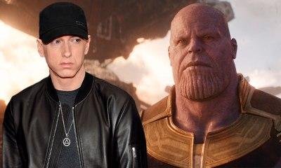 Eminem dedica canción a Thanos