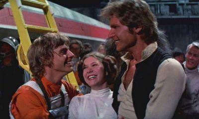 Han Solo besó a Luke en The Empire Strikes Back