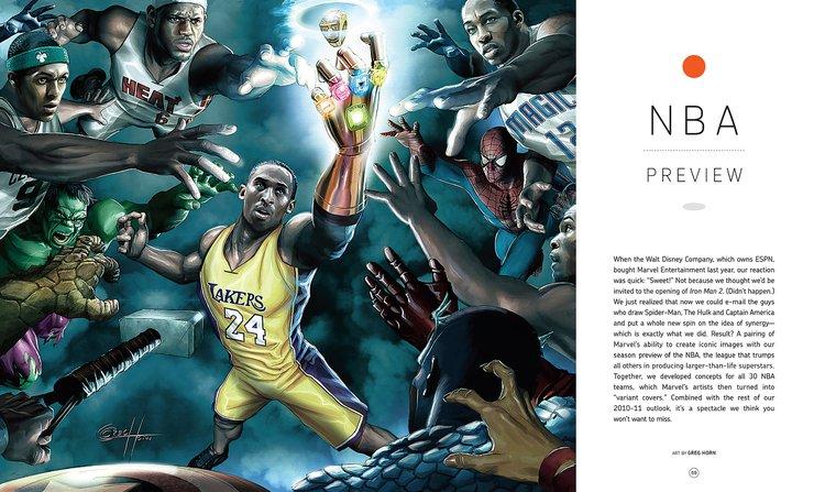La vez en que Kobe Bryant perteneció a los Avengers Kobe-ESPN-the-Magazine