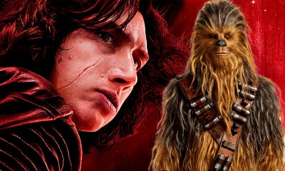 Kylo Ren confronta a Chewbacca