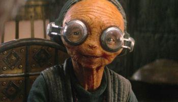 Maz Kanata era un animatronic en 'The Rise of Skywalker'