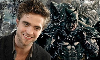 primera fotografía de Robert Pattinson en 'The Batman'