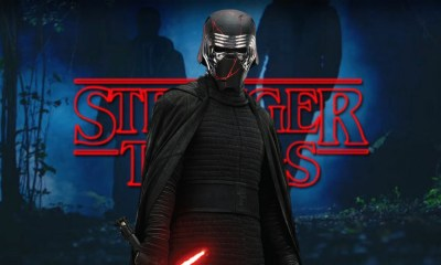 similitudes entre Kylo Ren y Billy de 'Stranger Things'