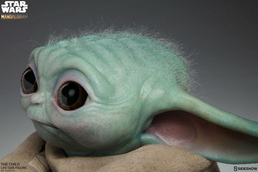 Desde el universo de Star Wars: Baby Yoda en tamaño real existe mun%CC%83eco-baby-yoda