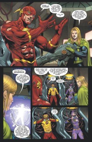 ¿Un crossover? Flash asegura que Dragon Ball Z está en DC the-flash-key-art-2-325x500