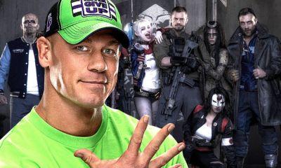 John Cena en grabaciones de 'The Suicide Squad'
