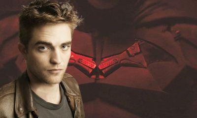 Las orejas del batsuit Robert Pattinson