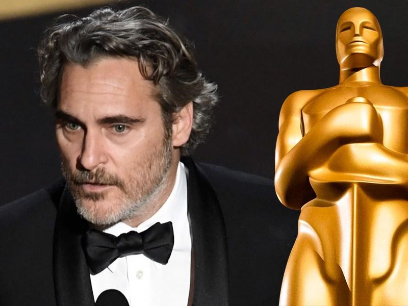 Joaquin Phoenix ganó el Oscar como Mejor Actor