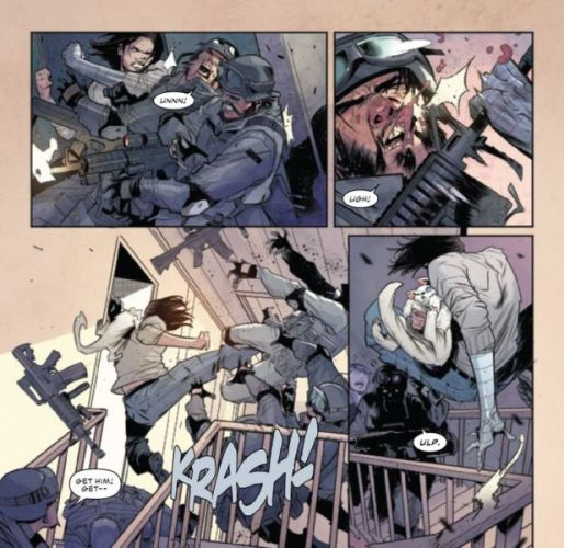 Referencia en 'Falcon and the Winter Soldier'
