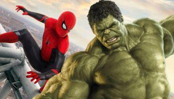 Spider-Man se convierte en Hulk