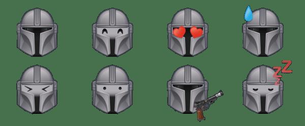 Disney revela el diseño de los nuevos emojis de baby Yoda emojis-de-mandalorian2-600x248