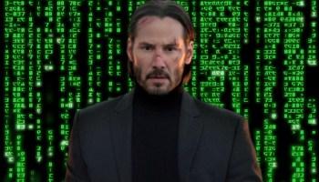 imagen de Keanu Reeves en 'Matrix 4'