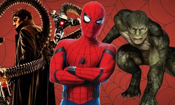 por qué los villanos de Spider-Man son animales