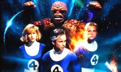 película de 'Fantastic Four' de 1994