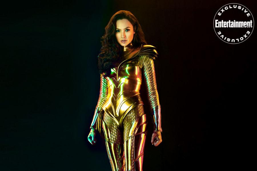 Nuevas fotos de 'Wonder Woman 1984' revelan la armadura de Diana image-1