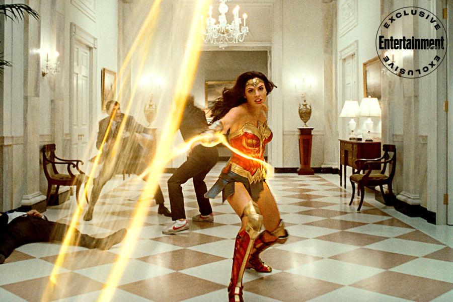 Nuevas fotos de 'Wonder Woman 1984' revelan la armadura de Diana image-2