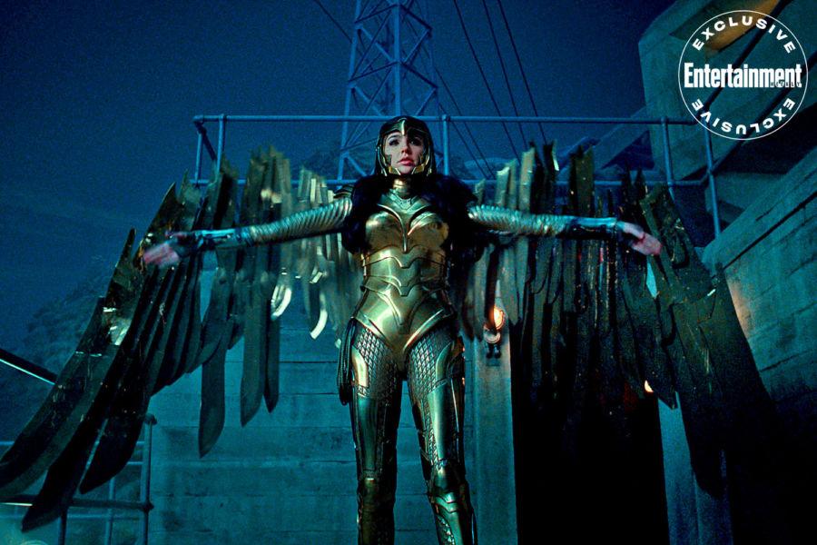 Nuevas fotos de 'Wonder Woman 1984' revelan la armadura de Diana image-3