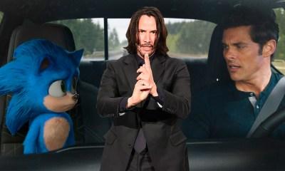 Keanu Reeves sería Knuckles en 'Sonic 2'