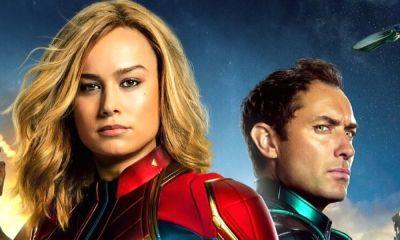 arte conceptual de Brie Larson en 'Captain Marvel'