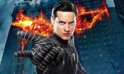 Spider-Man en 'The Dark Knight'