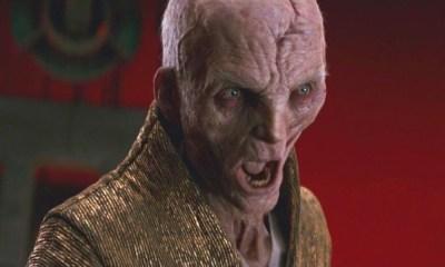 Snoke era un clon de Gran Moff Tarkin