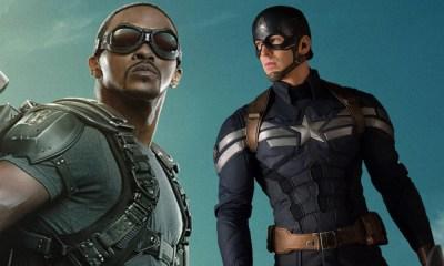 Falcon con el traje de Captain America