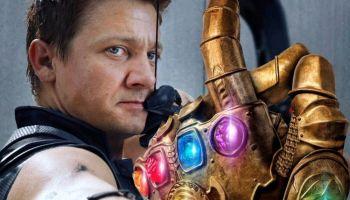 Hawkeye tenía un guantelete diferente en 'Avengers: Endgame'