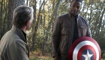 Hijo de Anthony Mackie lloró / al saber que su papá es Captain America
