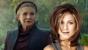 Leia y Rachel fueron tendencia por su peinado
