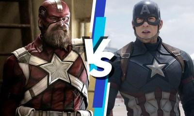 Quien ganaría entre Captain America y Red Guardian