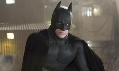 Christian Bale usó el traje de Batman de Val Kilmer