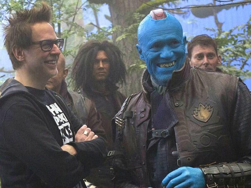 James Gunn compartió unas fotos con Michael Rooker